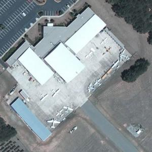 Aircraft static display at South Georgia Technical College (Bing Maps)