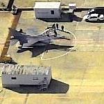 F-16 Readied for Takeoff (Birds Eye)