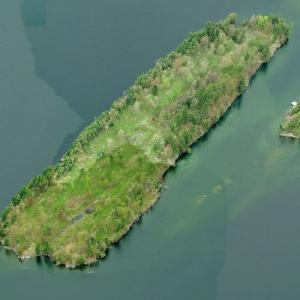 Ironsides Island (Birds Eye)
