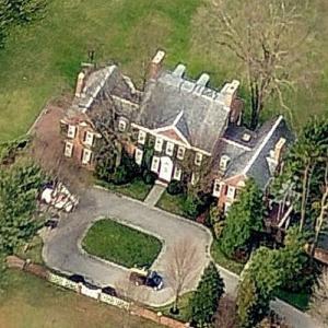 David Rockefeller's House (Birds Eye)