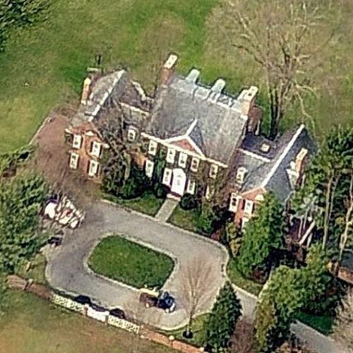 David Rockefeller's House In Sleepy Hollow, NY (Bing Maps