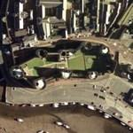 Caernarfon Castle (Bing Maps)