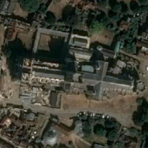 Canterbury Cathedral (Bing Maps)