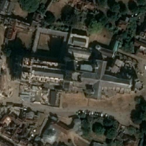 Canterbury Cathedral (Bing Maps)