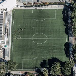 Negoesco Stadium (Birds Eye)