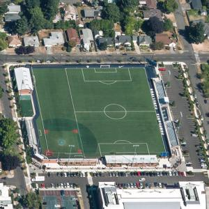 Hilken Community Stadium (Birds Eye)