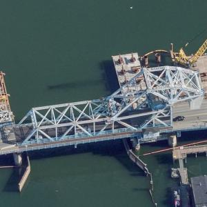 Johnson Street Bridge (Birds Eye)