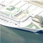 P&O Lines ship 'Oriana' (Birds Eye)