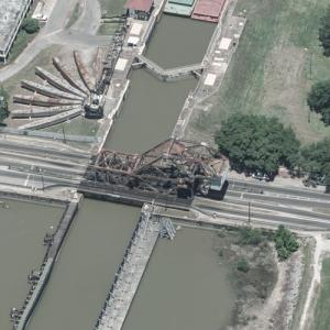 St. Claude Avenue Bridge (Birds Eye)