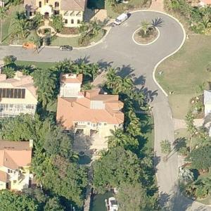 Maria Sharapova's House (Bing Maps)