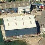 Griffon Hovercraft factory (Bing Maps)