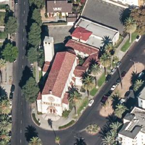 "Precious Blood Catholic Church (""Dexter"") (Birds Eye)"