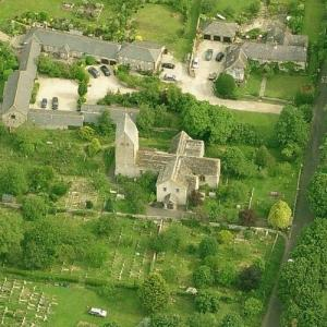Church of St Mary the Blessed Virgin, Sompting (Birds Eye)