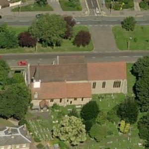 Holy Trinity Church, Southchurch (Birds Eye)
