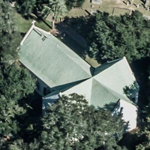 St. Andrew's Episcopal Church (oldest church in South Carolina) (Birds Eye)