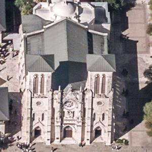 Cathedral of San Fernando (oldest church in Texas) (Birds Eye)
