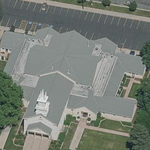 Bountiful Tabernacle (oldest church in Utah) (Birds Eye)