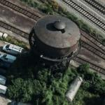 Rangierbahnhof Neckarau railway water tower