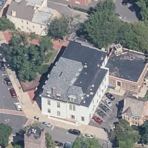 Perth Amboy City Hall (oldest active city hall in America) (Birds Eye)