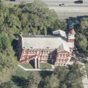 Osceola County Courthouse (oldest active courthouse in Florida) (Birds Eye)