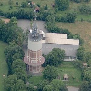 Wartberg water tower (Birds Eye)