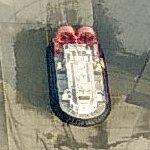 CCG AP1-88 hovercraft at Vancouver (Bing Maps)