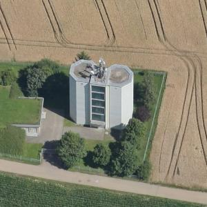 Weigheim water tower (Birds Eye)