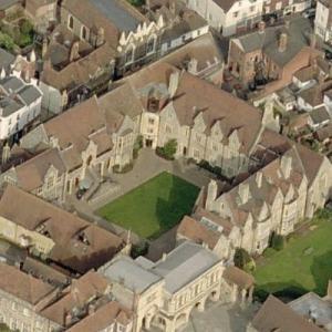 The King's School, Canterbury (world's oldest school) (Birds Eye)