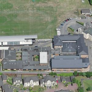 High School of Glasgow (oldest school in Scotland) (Birds Eye)