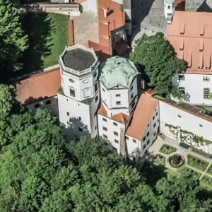 Augsburg water tower (Birds Eye)