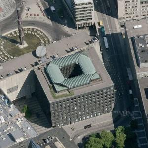 Sveriges Riksbank (world's oldest central bank) (Birds Eye)