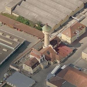 Bamberg water tower (Birds Eye)