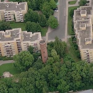 Bayreuth water tower (Birds Eye)
