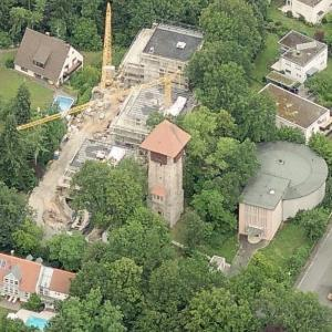 Burgberg water tower (Birds Eye)