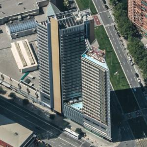 Hotel Princess Barcelona (Birds Eye)