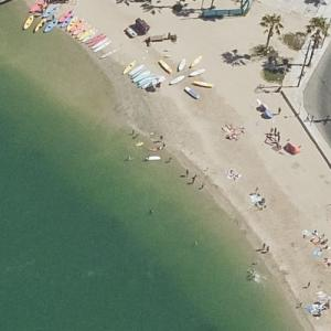 "Beach baptism (""Dexter"") (Bing Maps)"