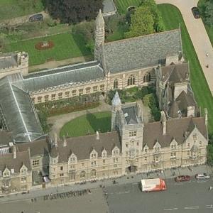 Balliol College, Oxford (Birds Eye)