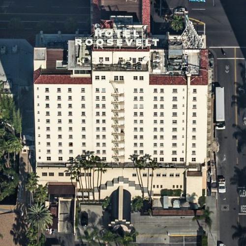 The Hollywood Roosevelt Hotel (Birds Eye)