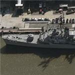Destroyer USS Edson (Birds Eye)