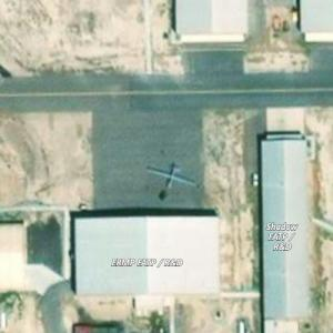 MQ-9 Reaper Drone at Michael Army Airfield in Dugway Proving Ground, UT (Bing Maps)