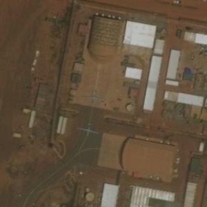 Two MQ-1B Predators at Niamey Drone Base (Bing Maps)
