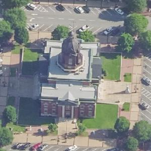 Coweta County Courthouse (Birds Eye)