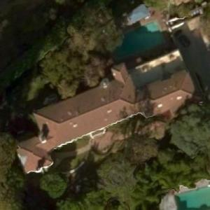 Dixie Carter's House (Bing Maps)