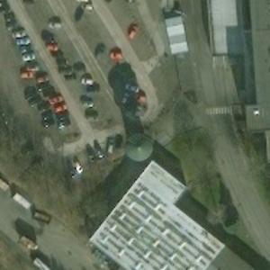 Korbach railway water tower (Bing Maps)
