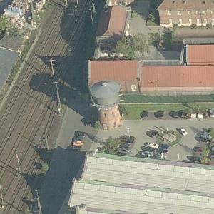 Lingen railway water tower (Birds Eye)