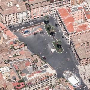 Piazza di Spagna (Birds Eye)