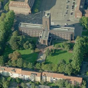 Wilhelmshaven City Hall (Birds Eye)