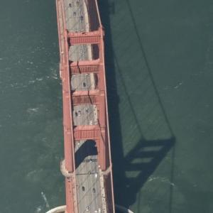 Golden Gate Bridge (Birds Eye)