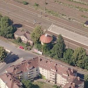 Gorlitz railway water tower (Birds Eye)