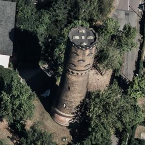 Grosszschocher water tower (Birds Eye)